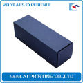 Free sample Custom Chipboard Foldable lip gloss/ lip linercosmetic paper box